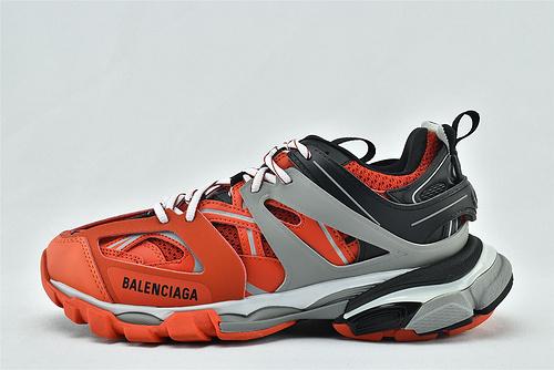 Balenciaga/巴黎世家 3.0 ins复古老爹鞋/非做旧 海外版 黑灰红 拼色  纯原  男女鞋  情侣款