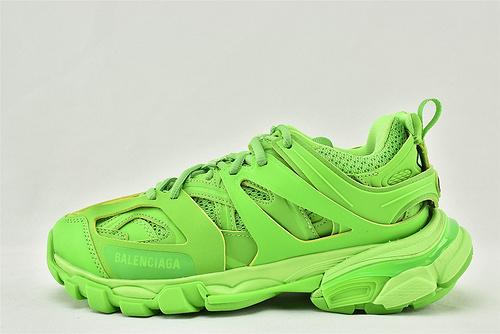 Balenciaga/巴黎世家 3.0 ins复古老爹鞋/非做旧 海外版 绿色 骚绿   男女鞋   情侣款