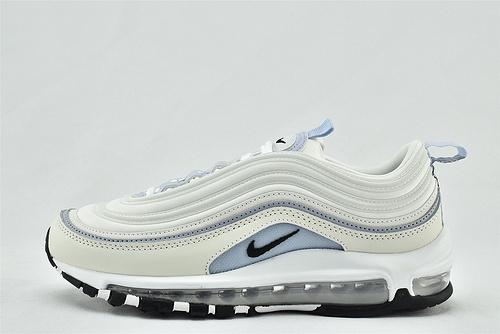 Nike Air Max 97 子弹气垫缓震跑鞋/白蓝  货号:CZ6087-102  男女鞋  情侣款