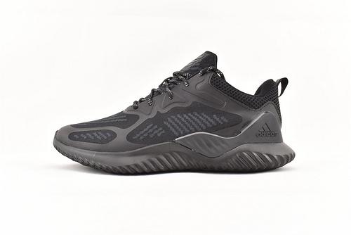 Adidas Alpha Bounce beyond M 阿尔法3.0缓震跑鞋/黑武士   货号:B43682  男鞋