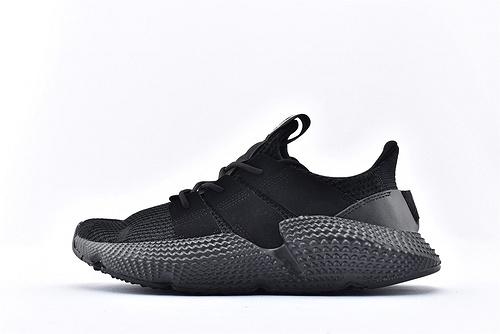 Adidas 三叶草 Prophere 复古跑鞋/刺猬 黑武士 原盒原标