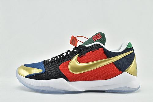 Undefeated x Nike Kobe 5 What If Und科比5代联名篮球鞋/套装 大盒 纪念版 白金 黑鸳鸯  货号:DB5551-900   男鞋