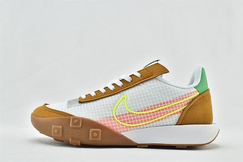 Nike WAFFLE RACER 20 秋季运动跑鞋/华夫2.0 小麦白  货号:CK6647-005  男鞋