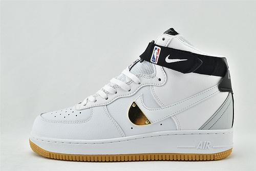 Nike Air Force 1 空军一号/中帮 白黑 NBA  货号:CT2306-100  男女鞋  情侣款
