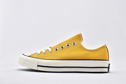 CONVERSE/匡威 1970S 三星黑标低帮滑板鞋/黄色 过验版  货号:162063C  男女鞋 情侣款