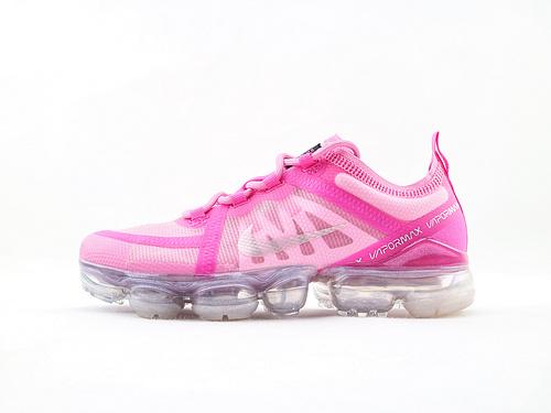 Nike AIR Vapormax Flyknit 2019大气垫缓震跑鞋/粉  货号:AR6632 600  女鞋