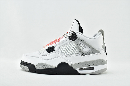Air Jordan 4 White Cement AJ4 乔丹4代篮球鞋/白水泥  货号:840606-192  男鞋