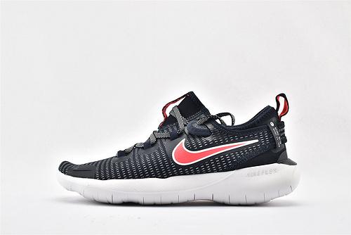 Nike NATURAL 赤足6.0系列跑鞋/黑白粉 条纹款  货号:CI9994-400  男鞋
