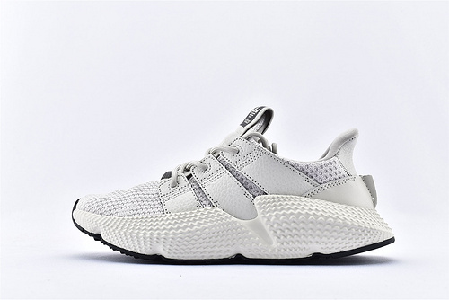 Adidas 三叶草 Prophere 复古跑鞋/刺猬 浅灰 原盒原标  货号:BD7828  男女鞋  情侣款