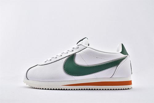 Nike Classic Cortez阿甘系列跑鞋/怪奇物语联名款 白绿  纯原版  货号:CJ6106-100  男女鞋 情侣款