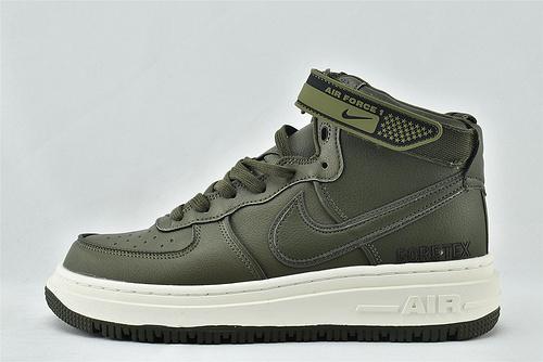 Nike Air Force 1 High Gore-Tex 空军一号/中帮板鞋 草绿  货号:CT2815-201   男女鞋   情侣款