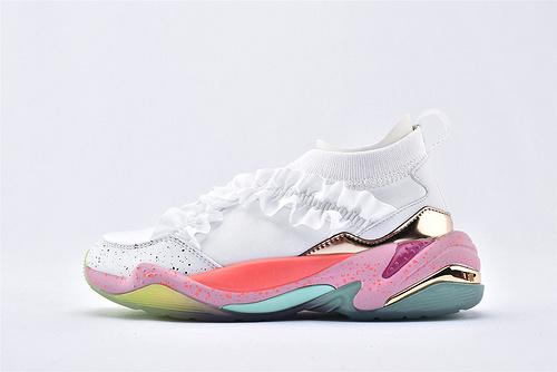 彪马/PUMA x Sophia Webster联名复古老爹鞋跑鞋/独角兽彩虹 花瓣搭配  货号:369519-01  女鞋