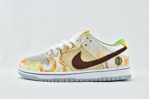 Nike SB Dunk Low CNY 低帮滑板鞋/联名  中国新年 食神鸳鸯  货号:CV1628- 800   男女鞋  情侣款