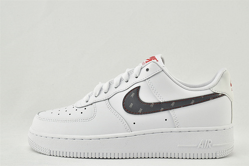 Nike Air Force 1 空军一号/低帮 联名款 3M 全白 反光版 新晋上市  货号:CT2296-100  女鞋