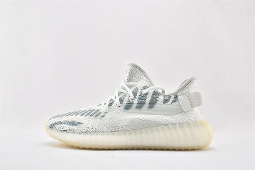 Adidas Yeezy Boost 350 V3 椰子3.0系列/冰蓝 拼接 三代   货号:FC9221   男鞋