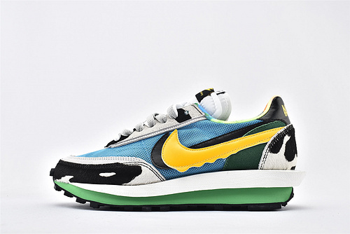 Sacai x Nike LVD Waffle Daybreak 联名走秀款解构跑鞋/牛奶冰淇淋  货号:BV3244-100  男女鞋  情侣款