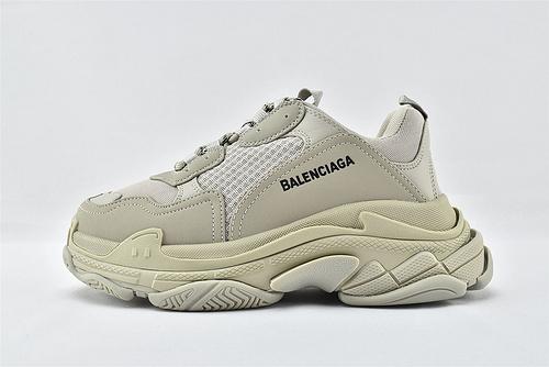 Balenciaga/巴黎世家 1.0 初代 复古老爹鞋/灰色 色  男女鞋  情侣款