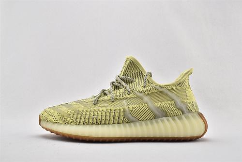 Adidas Yeezy Boost 350 V3 椰子3.0系列/黄斑马 满天星  货号:FC8333  男鞋
