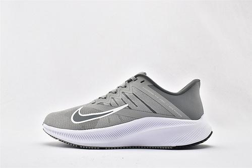 Nike QUEST 3 登月3代 运动跑鞋/浅灰白  货号:CD0230-003  男女鞋 情侣款
