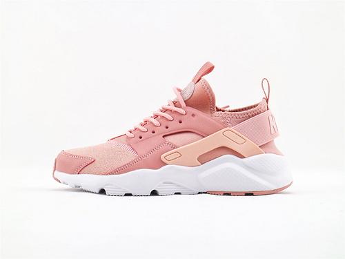 Nike Air Huarache 华莱士系列/暗粉  货号:942122 600  女鞋
