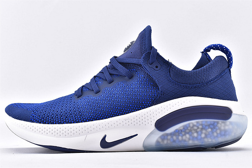Nike Joyride Run FK2019新款 减震颗粒跑鞋/蓝白 经典色   货号:AQ2730-400  男女鞋  情侣款