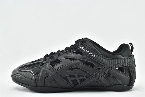 Balenciaga/巴黎世家  BALENCI AGA Drive 复古老爹鞋/2020秋冬新款 上市发售 海外版 黑武士  男女鞋  情侣款