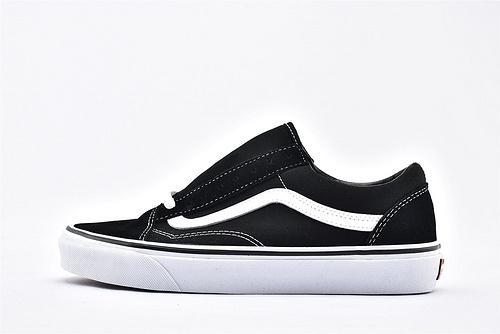Vans/万斯 Classic Old Skool 经典低帮滑板鞋/黑白经典  过验版  男女鞋  情侣款
