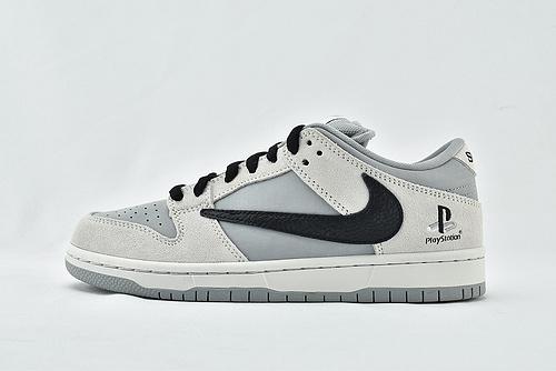Nike SB Dunk Low 低帮滑板鞋/联名 反钩 灰黑  货号:CU1726-900  男女鞋  情侣款