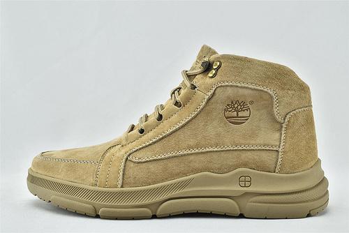 Timberland/天伯伦 添柏岚 2020新款 中帮皮靴/草绿色 小麦色  全头层  男鞋