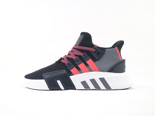 Adidas EQT Bask ADV 复古篮球鞋/黑红  货号:BD777  男鞋