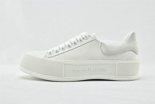 Alexander McQueen sole sneakers 亚历山大-王 2021夏季新款发售 发售 全白 黑白 绿的 粉色   芯片 版