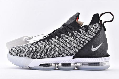 Nike Lebron 16 LBJ16 詹姆斯16代篮球鞋/黑白 首发  原装版  货号:AO2595-006  男鞋