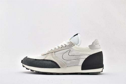 Nike DBREAK-TYPE 华夫款网面跑鞋/白黑  货号:CJ1156-100  男女鞋  情侣款