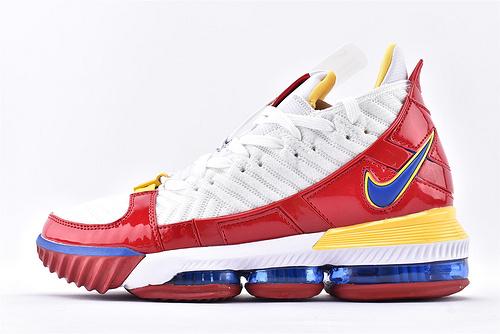 Nike Lebron 16 LBJ16 詹姆斯16代篮球鞋/超人  原装版  货号:CD2450-106  男鞋