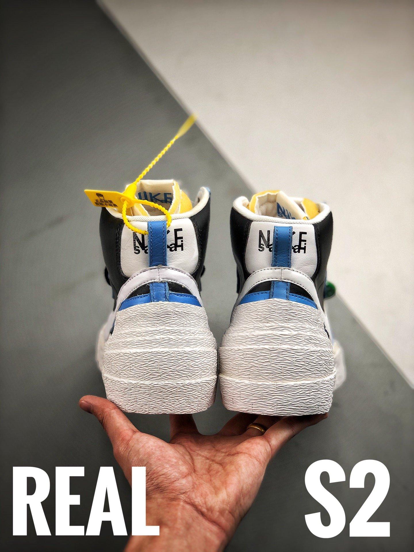 S2纯原Blazer对比原装 渠道裸鞋级直观分析