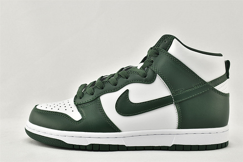 Nike Dunk High SP ProGreen 2020 SB高帮滑板鞋/ 白绿 经典  纯原版   货号:CZ8149-100  男女鞋 情侣款