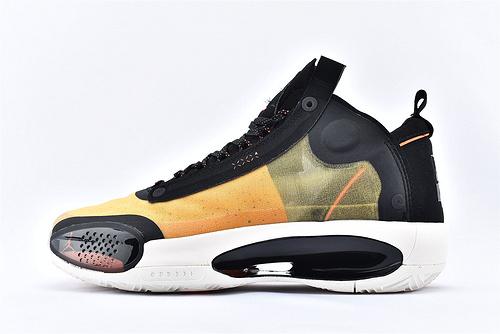 Air Jordan XXXIVPF 34 AJ34 乔丹34代篮球鞋/火星 琥珀镂空 款 实战篮版 货号:BQ3381-800  男鞋
