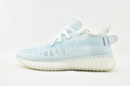 Adidas Yeezy Boost 350V2 椰子350系列/网纱 夏款 冰蓝  纯原版  货号:GW2869  男女鞋  情侣款