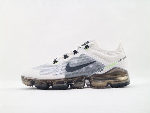 Nike air VaporMax Run Utility2019款全掌气垫缓震跑鞋/浅灰白金  货号:AT6810 100  男鞋