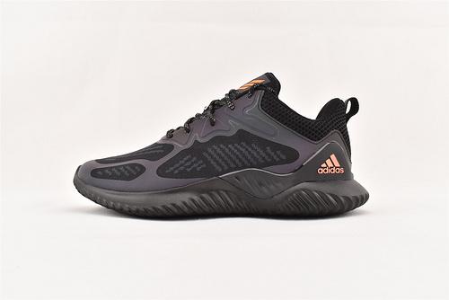 Adidas Alpha Bounce beyond M 阿尔法3.0缓震跑鞋/全黑3M变色龙   货号:B43612  男鞋