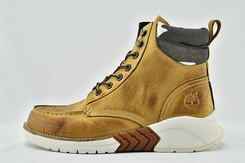 Timberland/天伯伦 添柏岚 2020新款高帮皮靴/复古 英伦风 黑色 小麦色  全头层  男鞋