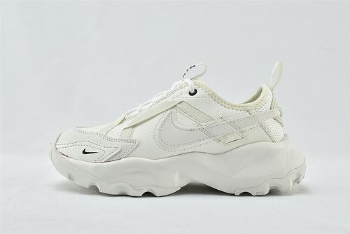 Nike TC 7900 新款老爹鞋/全白 2021春款 3M反光logo 软底增高  货号:DD9682-100  男女鞋  情侣款