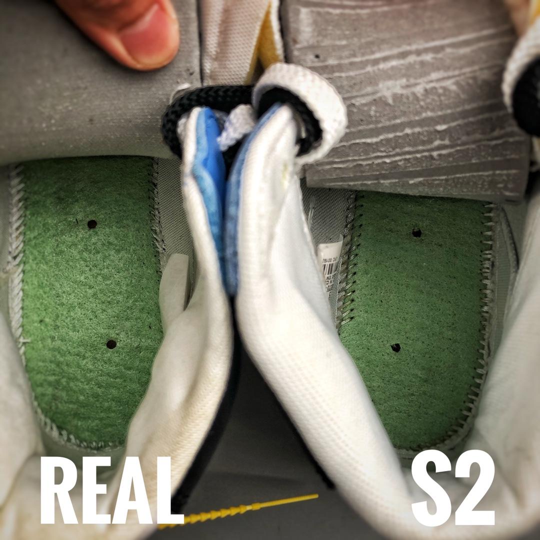 Sacai X Nike Blazer with Dunk  S2纯原生产线 精选驾驭素材对比图