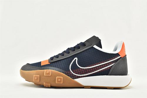 Nike WAFFLE RACER 20 秋季运动跑鞋/华夫2.0 深蓝 生胶底  货号:CK6647-400    男鞋