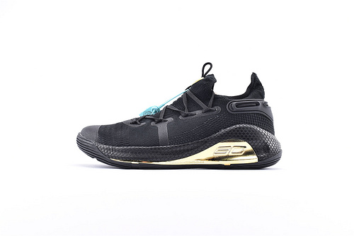 Under Armour Curry 6 安德玛库里6代篮球鞋/黑金 随意实战  货号:3020612-010  男鞋