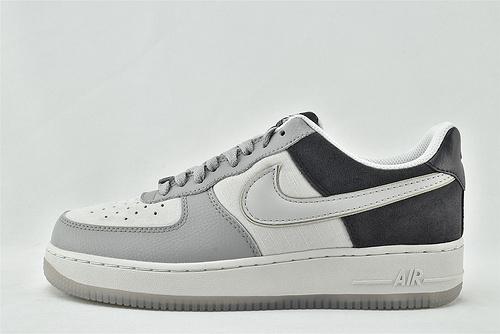 Nike Air Force 1 Low AF1空军一号/低帮 黑灰白 拼接 2020秋冬新款   货号:AO2425-001  男女鞋  情侣款