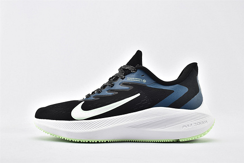 Nike Zoom Winflo 7 登月7代跑步鞋/深蓝白绿  货号:CJ0291-004  男鞋