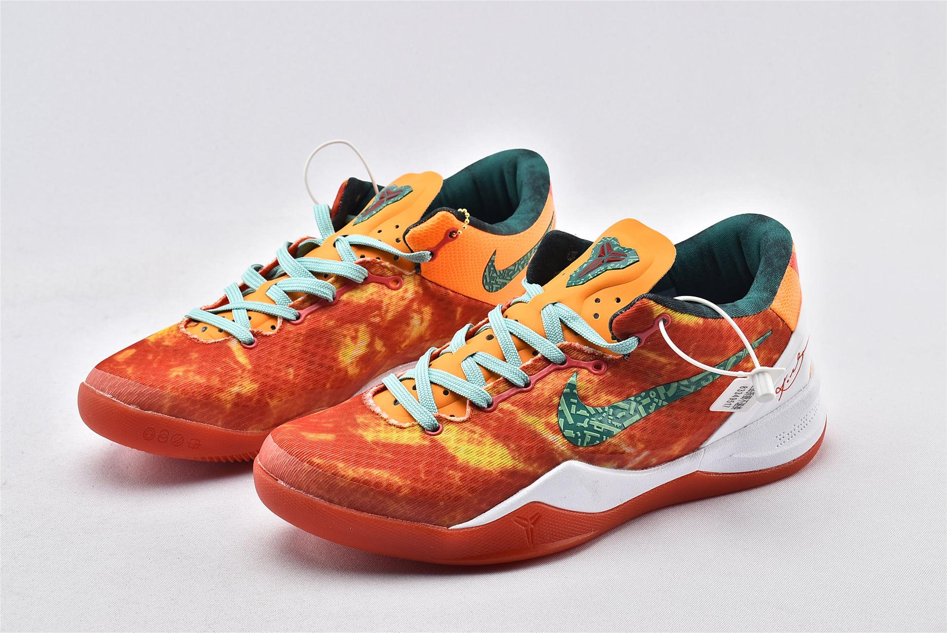 Zoom Kobe 8 科比8代篮球鞋/番茄蛋汤 白红黄   货号:587580-800  男鞋