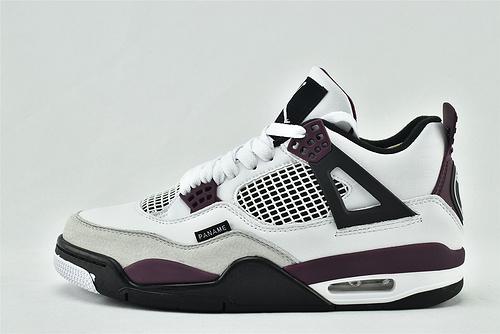 Air Jordan 4 PSG AJ4 乔丹4代低帮篮球鞋/酒红白 大巴黎 圣日耳曼联名  货号:CZ5624-100   男鞋