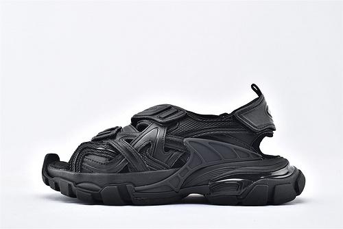 Balenciaga/巴黎世家 3.0 ins复古老爹凉鞋/黑武士 海外版  纯原版  男女鞋 情侣款